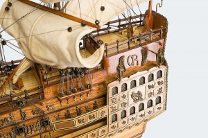 "Luksusowy Model Statku ""Sovereign of the Seas"""