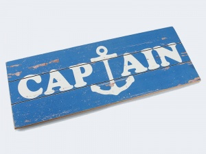 Tablica na ścianę - Captain